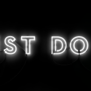 "Neon Sign ""Just Do it"""