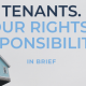 Tenants Rights & Resonsibilities