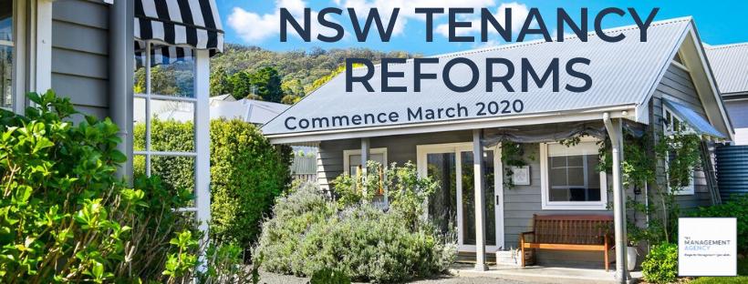 NSW Tenancy Reforms