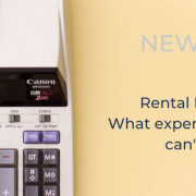 Rental Properties Tax time