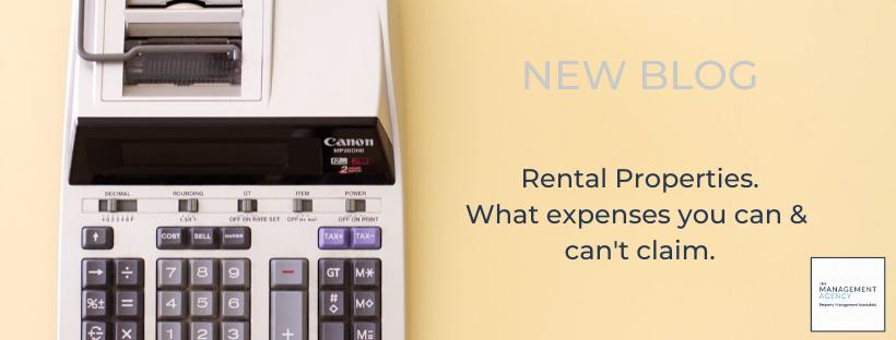Rental Properties Tax time